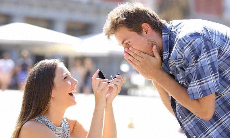 Как сделать предложение мужчине жениться?