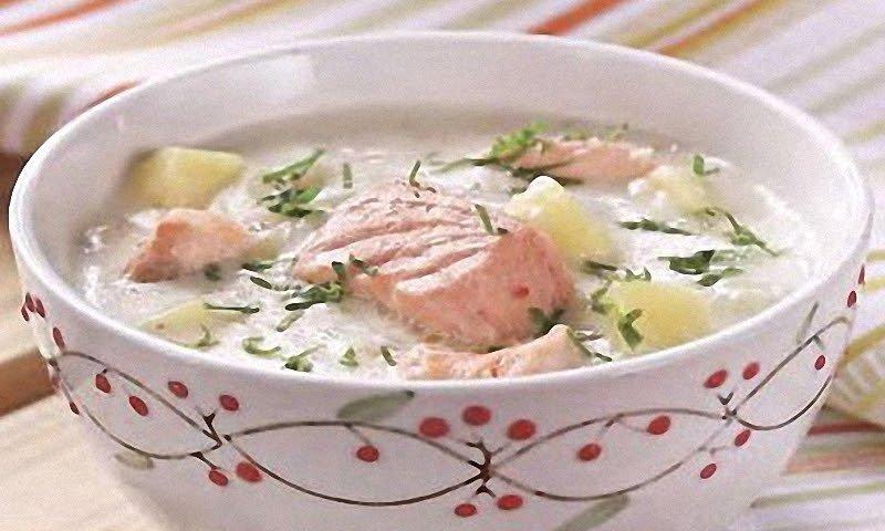Лохикейто (Финский рыбный суп из лосося)
