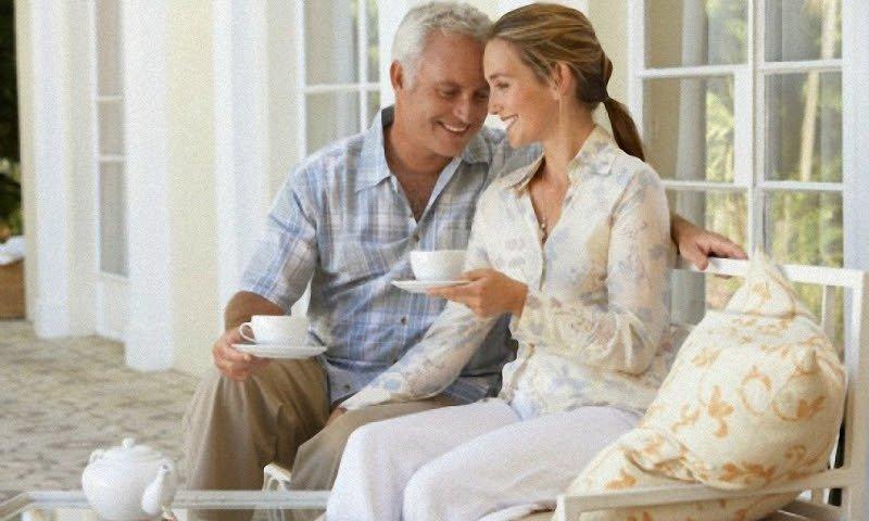 Отношения с мужчиной постарше