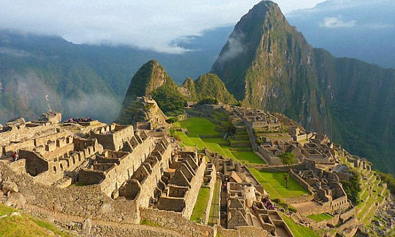 Захватывающие древние руины в Перу.