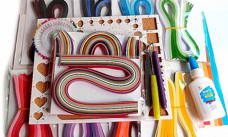 Какие материалы нужны для квиллинга для начинающих?