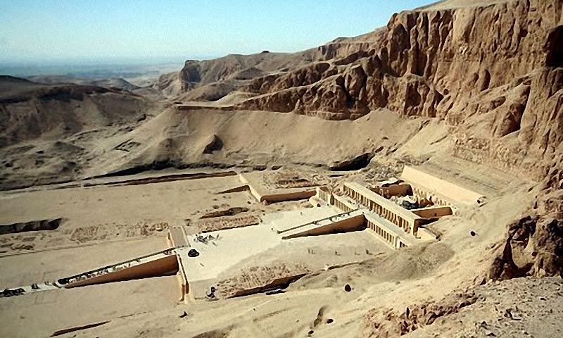 Древние египетские гробницы, Долина царей
