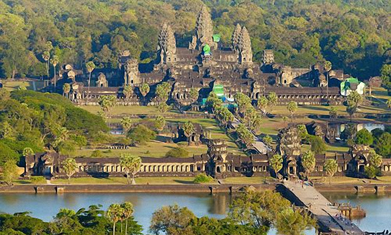 Ангкор Ват, Камбоджа.