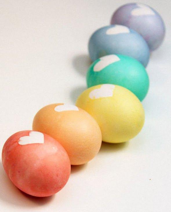 Любовные яйца.