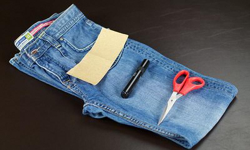 Что вам понадобится для рваных джинс