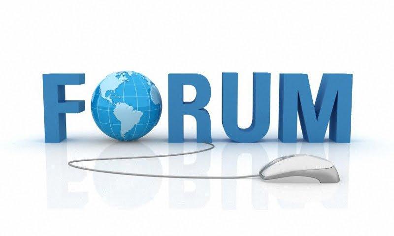 Продвижения сайта через форумы.