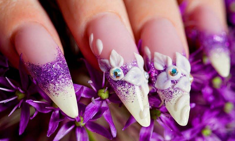 Креативный дизайн ногтей
