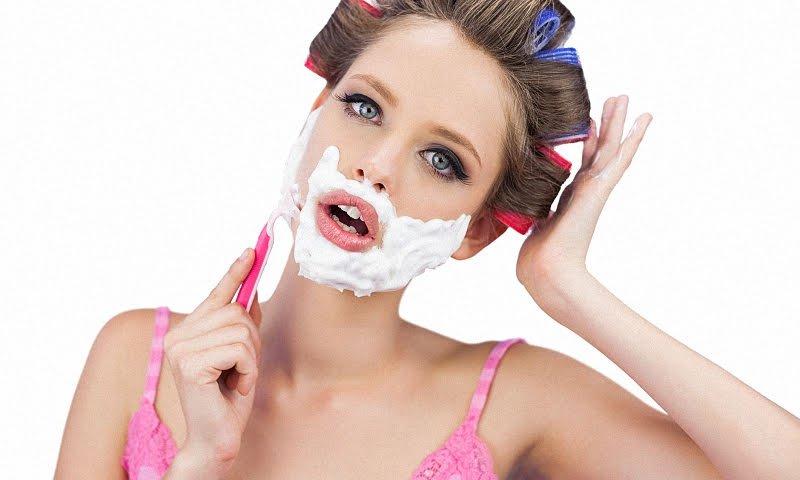 Как избавиться девушке от усов?