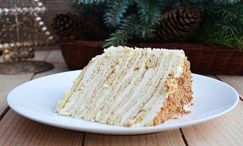 Творожный торт «Нежность»