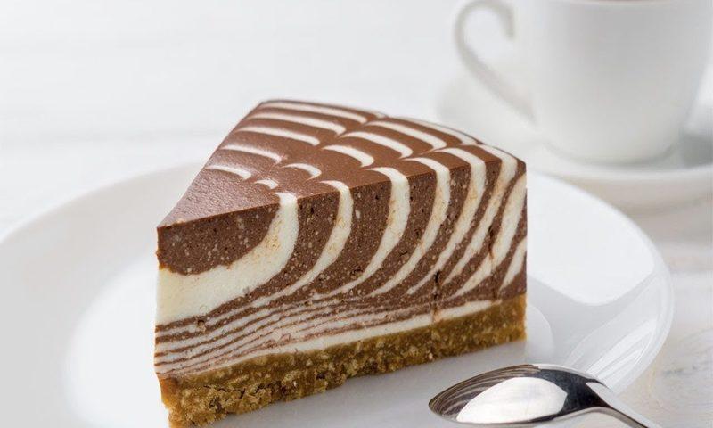 Муссовый торт «Зебра»