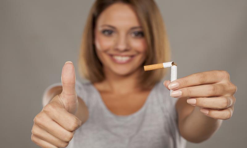 Я бросила курить