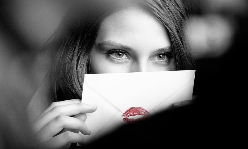 Девушка, письмо