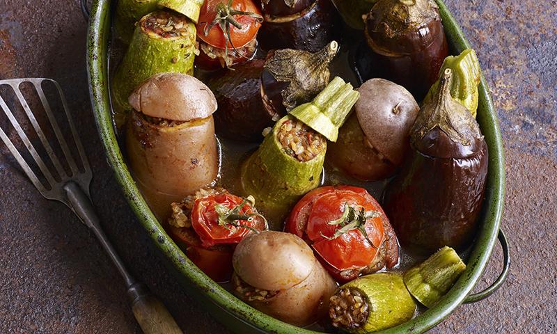 Махши — фаршированные овощи по-египетски